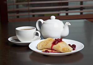 Hintergrundbilder Flötenkessel Eierkuchen Powidl Frühstück Tasse Teller