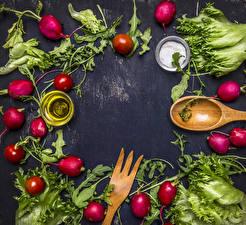 Hintergrundbilder Gemüse Radieschen