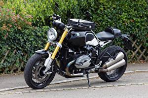 Fotos BMW - Motorrad Schwarz R nine T