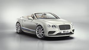 Pictures Bentley White Metallic Cabriolet Expensive 2017 Continental GT V8 Convertible -Galene Edition by Mulliner