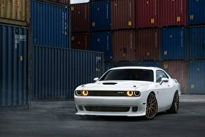 Images Dodge Tuning White William Stern, challenger, White Hellcat automobile