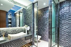 Pictures Interior Design Toilet room Mirror