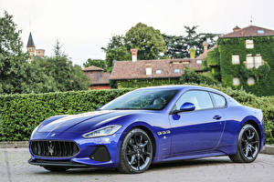 Pictures Maserati Metallic Expensive Blue 2017 GranTurismo Sport automobile