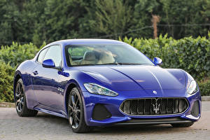 Picture Maserati Metallic Luxury Blue 2017 GranTurismo Sport