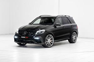 Hintergrundbilder Mercedes-Benz Brabus Schwarz W166 ML-Class