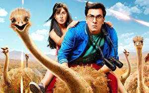 Images Ostrich Man Jagga Jasoos (2017) Ranbir Kapoor, Katrina Kaif Movies Girls