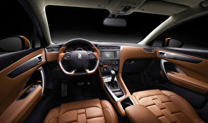 Hintergrundbilder Salons Citroen Luxus Lenkrad DS 4 Autos