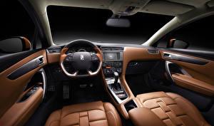 Hintergrundbilder Salons Citroen Luxus Lenkrad DS 4 auto