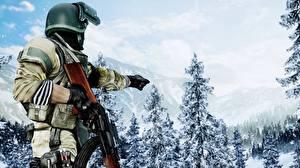 Fotos Soldaten AK 47 Battlefield 4 Spiele