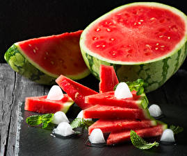 Image Watermelons Ice Piece Food