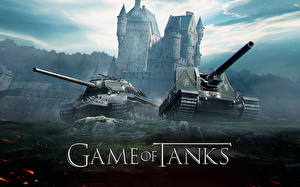 Wallpapers World of Tanks Tanks SPG Game of Tanks vdeo game Humor
