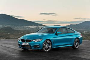 Image BMW Light Blue Metallic 2017 440i Coupe M Sport Worldwide auto