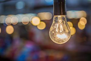 Images Closeup Light bulb