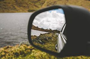 Bilder Großansicht Spiegel Spiegelung Spiegelbild Autos