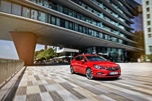 Bilder Opel Rot 2015 Astra K auto