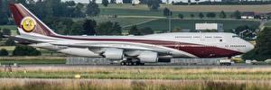 Photo Passenger Airplanes Boeing Switzerland Zurich 747 Aviation