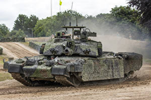 Wallpapers Tank Camouflage British Challenger 2 Army