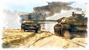 桌面壁纸,,坦克,绘制壁纸,俄,陆军