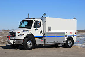 Picture Trucks White 2017 Freightliner Business Class M2 106 Grusader Tanker automobile