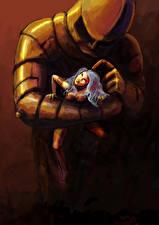 Hintergrundbilder Krieger Rüstung Helm 2 Fantasy Mädchens