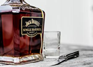 Photo Whiskey Jack Daniel's Bottles