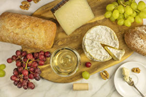 Bilder Käse Brot Schneidebrett