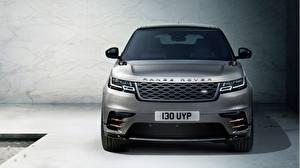 Fotos Land Rover Vorne Graues Velar Autos