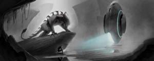 Wallpapers Monster Technics Fantasy