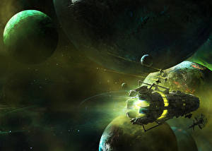 Images Planets Starship Ship Space