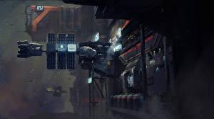Bureaubladachtergronden Star Citizen Techniek Fantasy Schip Computerspellen Fantasy Ruimte