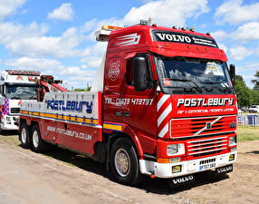 Images Volvo Lorry Red FH16 Globetrotter Recovery Lorry P757 OKO auto