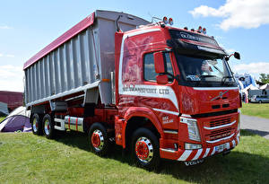 Pictures Volvo Trucks Red FM Globetrotter Bulk Tipper L100 SST Cars
