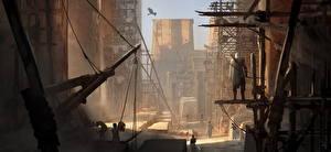 Fotos Krieger Bogenschütze Ägypten Assassin's Creed Origins computerspiel