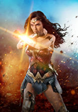 Wallpaper Wonder Woman hero Wonder Woman (2017 film) Gal Gadot Hands Movies Girls Celebrities