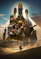 Bilder Assassin's Creed Origins Krieger Ägypten Spiele