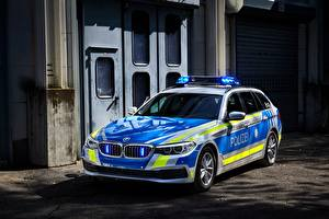 Images BMW Tuning Police 2017 530d xDrive Touring Polizei auto
