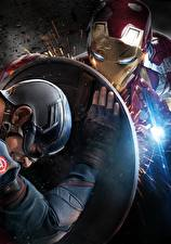 Pictures Captain America: Civil War Captain America hero Iron Man hero Shield Steve Rogers Celebrities