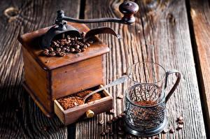 Fotos Kaffee Bretter Trinkglas Getreide Lebensmittel