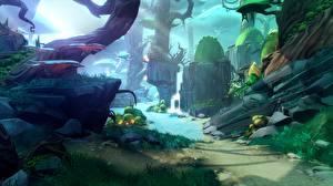 Hintergrundbilder Fantastische Welt Battleborn Spiele 3D-Grafik Fantasy