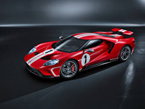 Bilder Ford Fahrzeugtuning Rot 2018 GT 67 Heritage Edition Autos