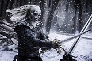 Fotos Game of Thrones Schwert Schlägerei Season 7 white walkers