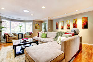 Pictures Interior Design Living room Couch Ceiling