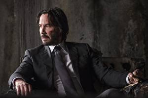 Image John Wick: Chapter 2 Man Keanu Reeves Costume Necktie Movies Celebrities