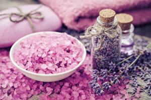 Images Lavandula Salt Jar