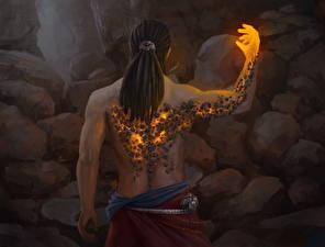 Bilder Magie Magier Hexer Rücken
