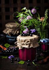 Photo Powidl Currant Jar Food