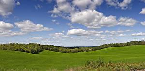 Bilder Himmel Grünland USA Wolke Wisconsin Natur