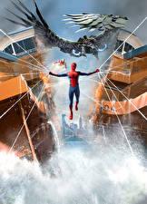 Bakgrunnsbilder Spider-Man superhelt Spider-Man: Homecoming Edderkoppsilke Film