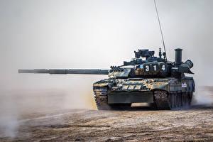 桌面壁纸,,坦克,俄,T-80UE-1,陆军