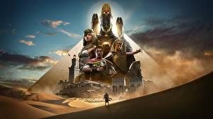 Fotos Assassin's Creed Origins Ägypten Krieger Pyramide bauwerk Spiele